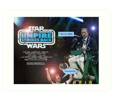 Star Wars - The Umpire Strikes Back Art Print