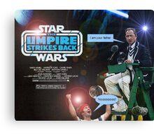 Star Wars - The Umpire Strikes Back Canvas Print