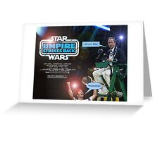 Star Wars - The Umpire Strikes Back Greeting Card