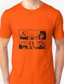 Mustachio Men - toon version T-Shirt