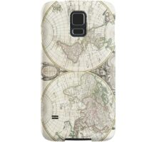 Vintage Map of The World (1775) Samsung Galaxy Case/Skin