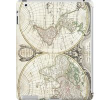 Vintage Map of The World (1775) iPad Case/Skin