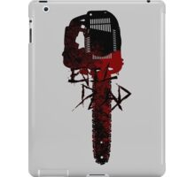 ash chainsaw atack iPad Case/Skin