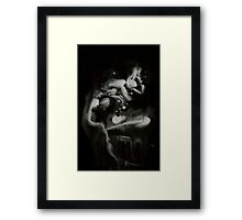 0110 - Brush and Ink - Knight's Requisition Framed Print