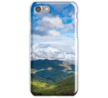 Nantahala Mountains, Franklin, NC iPhone Case/Skin