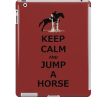 Keep Calm & Jump A Horse  iPad Case/Skin