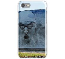 Michael Phelps on Under Armour Title Tank,  Baltimore iPhone Case/Skin