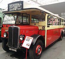 1929 AEC Regal I bus – T31 by santoshputhran