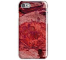 Red Maryland Crab on a Paper Bag iPhone Case/Skin