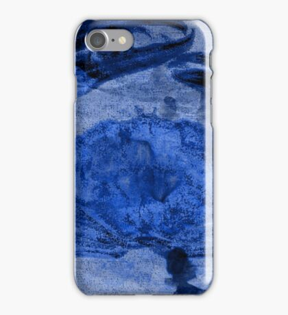 Maryland Blue Crab on a Paper Bag iPhone Case/Skin