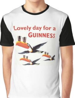 Vintage Guinness Beer Ad 4 Graphic T-Shirt