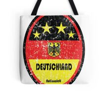 World Cup Football 3/8 - Deutschland (Distressed) Tote Bag