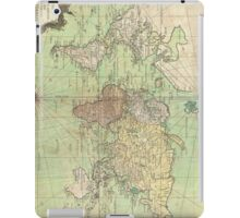 Vintage Map of The World (1778) iPad Case/Skin