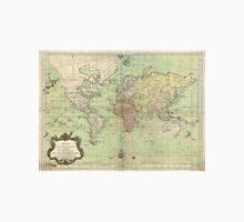 Vintage Map of The World (1778) Unisex T-Shirt