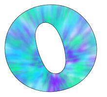 O-Tie Dye Photographic Print