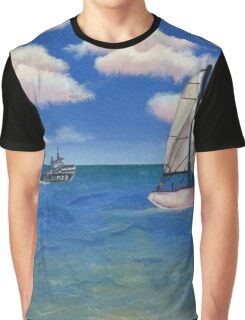 Day at sea  Graphic T-Shirt