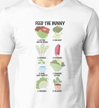 FEED THE BUNNY Unisex T-Shirt