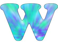 W-Tie Dye Photographic Print