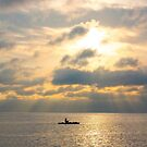 Lone Fisherman by lisapowell