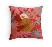 Technicolor Jungle 2 Throw Pillow
