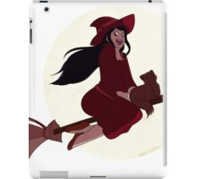Flying Red Witch iPad Case/Skin