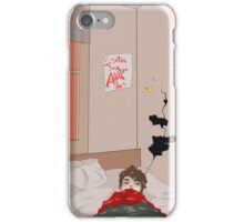 waking up in slowtown iPhone Case/Skin