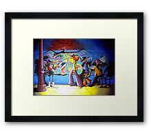 Street Light Framed Print