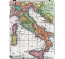 Vintage Map of Italy (1780) iPad Case/Skin