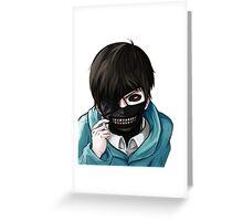 Kaneki Ghoul Greeting Card