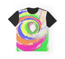 Whirlpool Of Colour Graphic T-Shirt