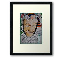Wish You To A Better Place Framed Print