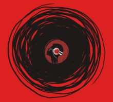 I'm spinning within with a vinyl record... Kids Tee