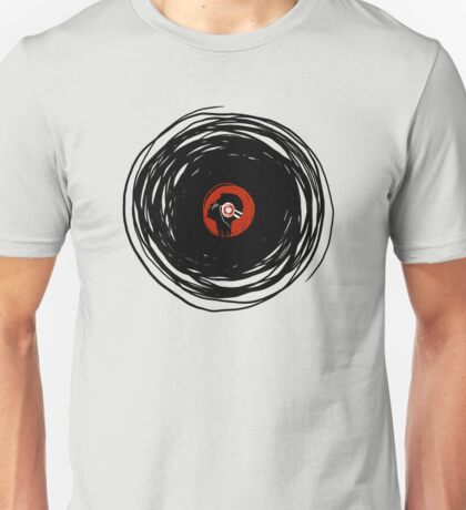 I'm spinning within with a vinyl record... Unisex T-Shirt