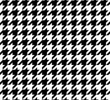 Houndstooth Traditional Small by USAswagg