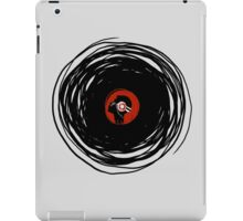 I'm spinning within with a vinyl record... iPad Case/Skin