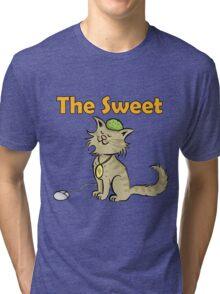 Cat_Sweet Tri-blend T-Shirt