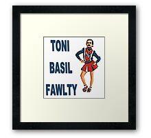 Toni Basil Fawlty Framed Print