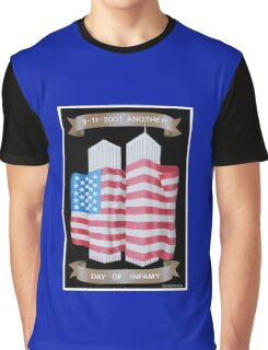 9/11 Twin Towers Graphic T-Shirt
