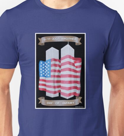 9/11 Twin Towers Unisex T-Shirt
