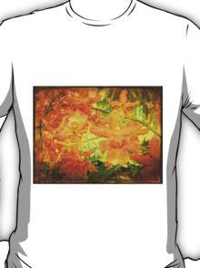 Orange Orchid Tangle T-Shirt