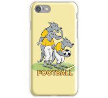 Dog_Football iPhone Case/Skin