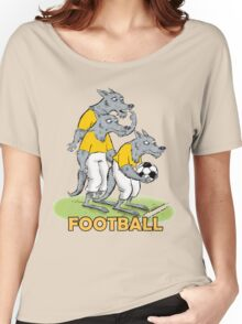 Dog_Football Women's Relaxed Fit T-Shirt