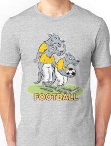 Dog_Football Unisex T-Shirt