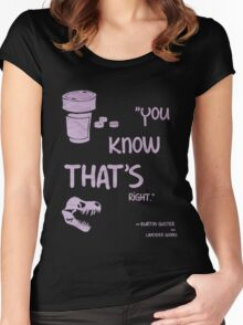 You know that's right. Women's Fitted Scoop T-Shirt