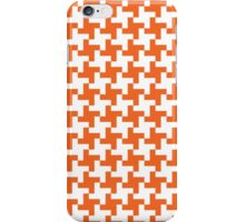 Houndstooth Orange iPhone Case/Skin