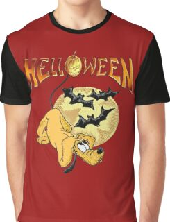 Pluto_Helloween Graphic T-Shirt