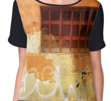 Sunset in Italy Chiffon Top