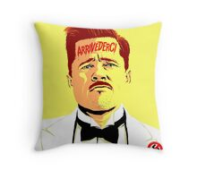 I Don't Speak Italian Throw Pillow