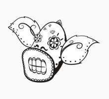 Weepinbell de los Muertos   Pokemon & Day of The Dead Mashup T-Shirt