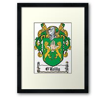 O'Reilly Coat of Arms (Cavan) Framed Print